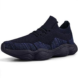Womens Non Slip Resistant Running Shoes Slip On Tennis...