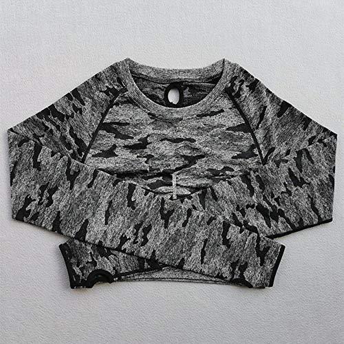 Jinlyp - Yoga-T-Shirts für Damen in Black, Größe L