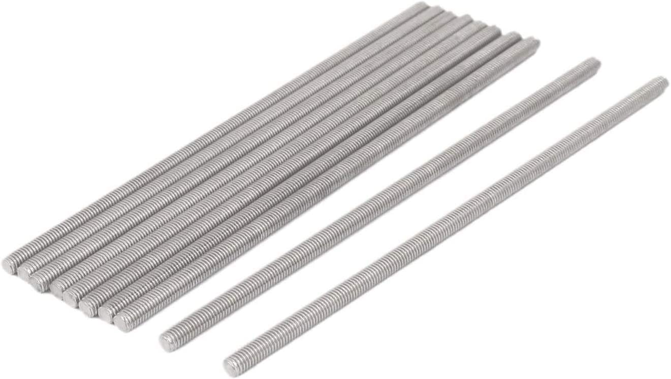 Mesa Mall SHOUCAN 304 Stainless Steel Fully Threaded Rod Length Limited time sale 300 400 M4