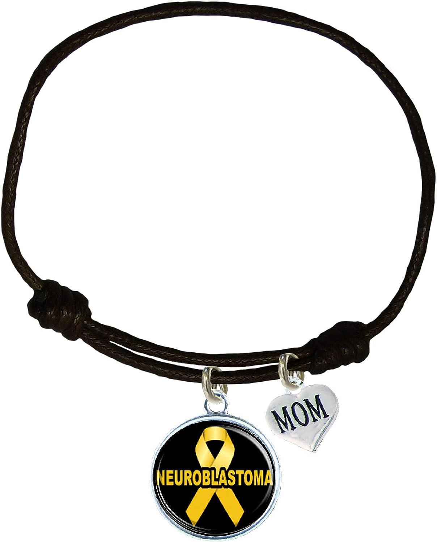 Holly Road Custom Neuroblastoma Awareness Black Leather Unisex B