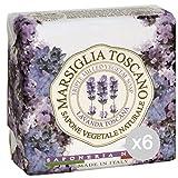 Set 6Edelreisern Seifenschale Toscano Lavendel Toskana 200Pflege und Reinigung des Körpers