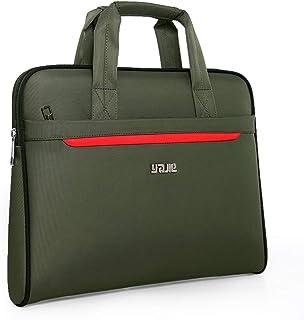 New Briefcase, Waterproof Oxford Cloth Large Capacity Computer Bag Travel Handbag,Green,40 * 5.5 * 30cm