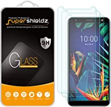 (3 Pack) Supershieldz for LG K40 Tempered Glass Screen Protector, Anti Scratch, Bubble Free