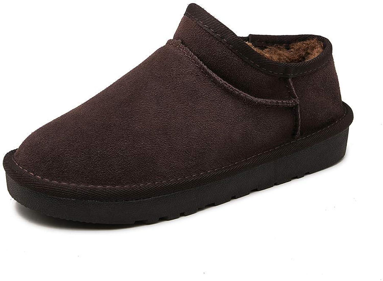 Damen Schnee Stiefel Warm EIN Baumwolle Stiefel Brötchen Schuhe Anti-Rutsch Kurz Stiefel  | Online Outlet Shop  | Merkwürdige Form