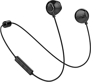 Bluetooth Headset Wireless Earbuds V4.1 Stereo Noise Canceling Sport Magnetic Headphones Earpieces with Built in Mic Compa...