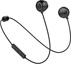 Bluetooth Headphones, Yostyle Magnetic Wireless Earbuds Bluetooth 5.0 Noise Canceling Earphones Sweatproof Sport Headset w/Mic for iPhone 11 X/XR/XS/8/7/6 Plus, Galaxy S10/S9/8,10 Hrs Work Time(Black)