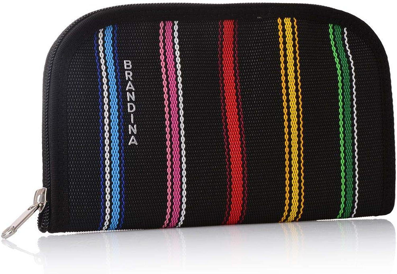 Brandina The Original, Damen-Geldbörse Mehrfarbig Schwarz One Größe B07HRVXRTR