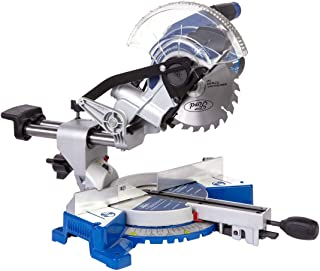 Ford Bevel Sliding Cutting Mitre Saw with Laser Corded Electric Wood Cutter, 1200 Watts, 190 mm, FX1-1053, Blue