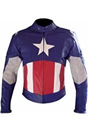 Stormwise Mens America Fashion Real Leather Captain Fashion Jacket