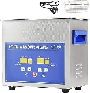 منظف احترافي يعمل بالموجات فوق الصوتية 3.2 لتر، سخان رقمي من الفولاذ المقاوم للصدأ، تنظيف حمام بالموجات فوق الصوتية لصناعا...