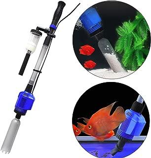 COODIA Vacuum Gravel Cleaner Automatic Aquarium Sludge Extractor Water Changer, 3 in1 16W