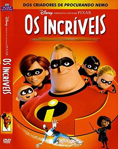 DVD Disney Pixar- Os Incríveis