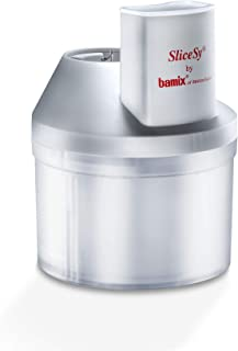 """Bamix – """"SliceSy"""" Food Processor Attachment – The Perfect Accessory for your Bamix Immersion Hand Blender – Made in Switze..."""