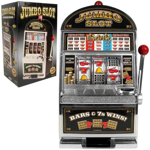 RecZone Jumbo Slot Machine Bank - Replication