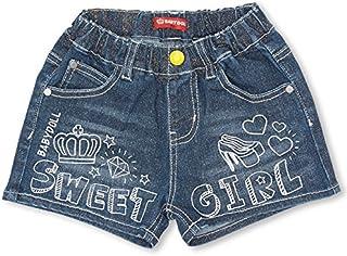 BABYDOLL(ベビードール) SWEETガールデニムショートパンツ-子供服 女の子 ベビー キッズ -0530K