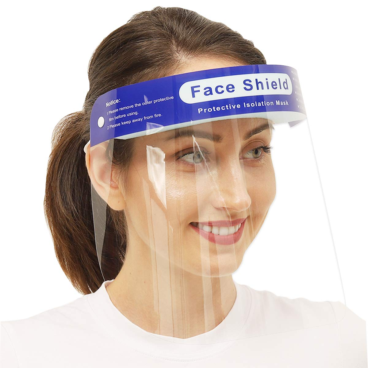 Face Shield favorite Safety Reusable Some reservation Version】Anti PCS【Updated 4