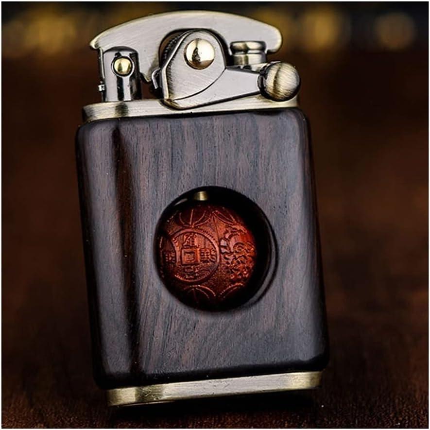 Cigar Lighter Portable Max 54% OFF Waterproof Ranking TOP19 Wooden Outdoor