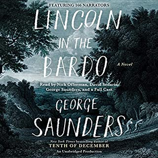 Lincoln in the Bardo     A Novel              By:                                                                                                                                 George Saunders                               Narrated by:                                                                                                                                 Nick Offerman,                                                                                        David Sedaris,                                                                                        George Saunders,                   and others                 Length: 7 hrs and 25 mins     7,802 ratings     Overall 4.0