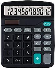 $23 » ZZL Multifunction Desktop Calculator Study Scientific Calculators Handheld Standard Function Desktop Calculator 12 Digit L...
