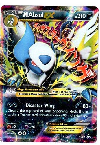 Pokemon Mega Absol EX # XY63 Foil Holo Promo Card XY 63 M Absol EX by Pokemon Center