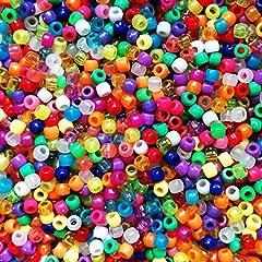 DAHI Perlen 300stk holzperlen 10mm bastelnperlen f/ür DIY Schmuck Herstellung 10mm//300stk
