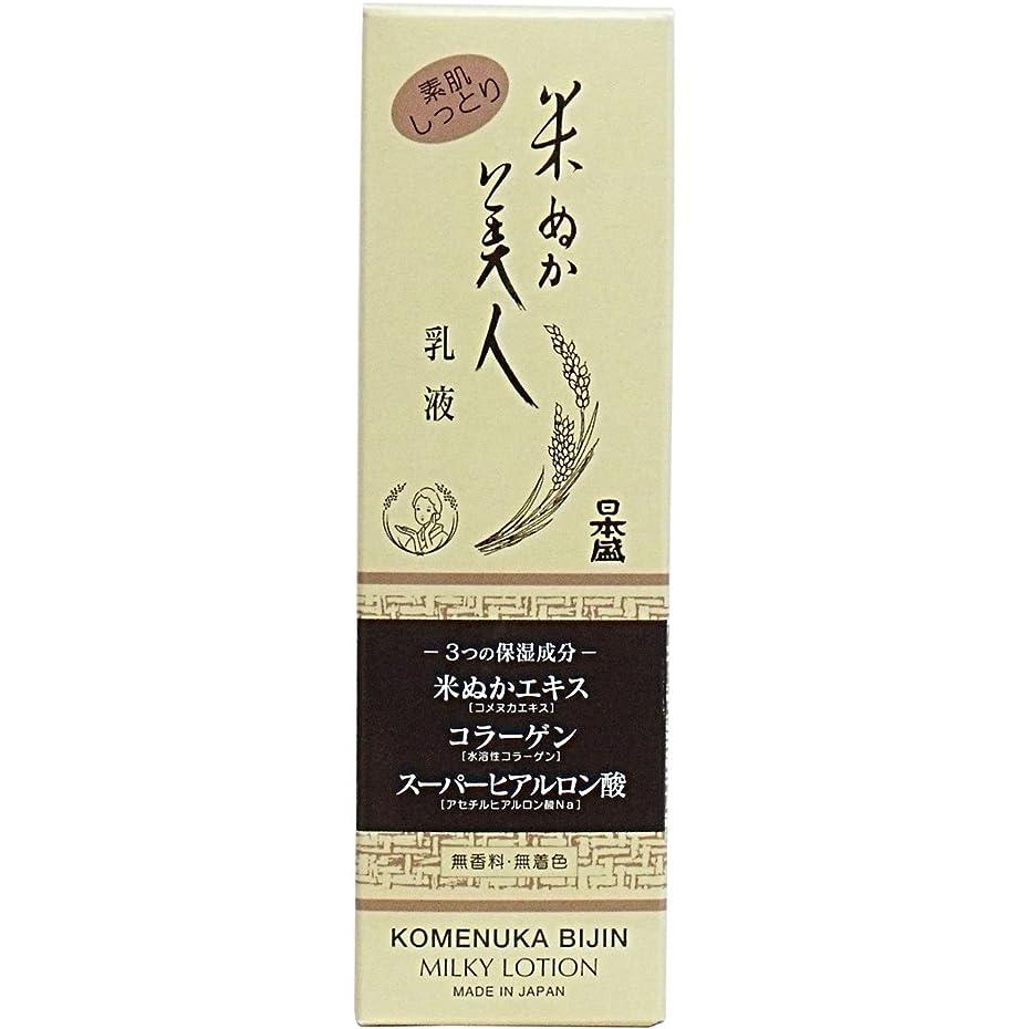 米ぬか美人 乳液 100ML × 5個セット