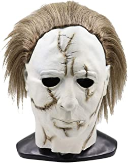 Cafele Adult Horror Halloween Michael Myers Mask Scary Cosplay Prop