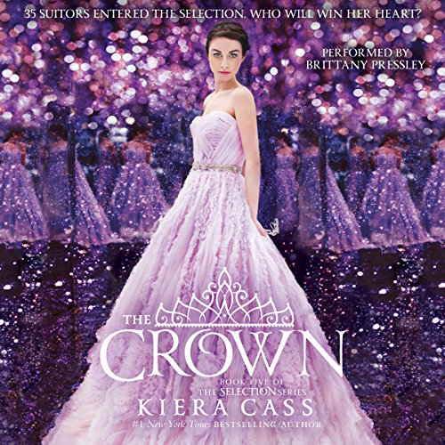 The Crown     The Selection, Book 5              Written by:                                                                                                                                 Kiera Cass                               Narrated by:                                                                                                                                 Brittany Pressley                      Length: 7 hrs and 12 mins     10 ratings     Overall 4.6