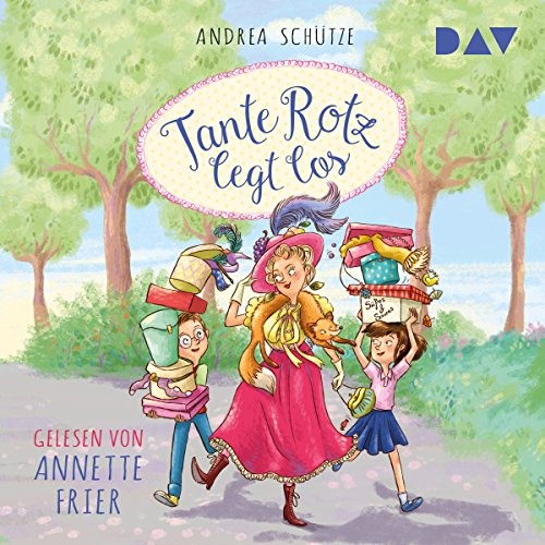 Tante Rotz legt los audiobook cover art