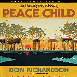 Peace Child audiobook cover art