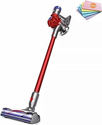 Premium Dyson V8 Motorhead Origin Cordless Stick Vacuum Cleaner: Lightweight Versatility Designed, Strong Suction for Versatile Cleaning, Washable Filter, Whole-Machine Filtration + Sponge Cloth