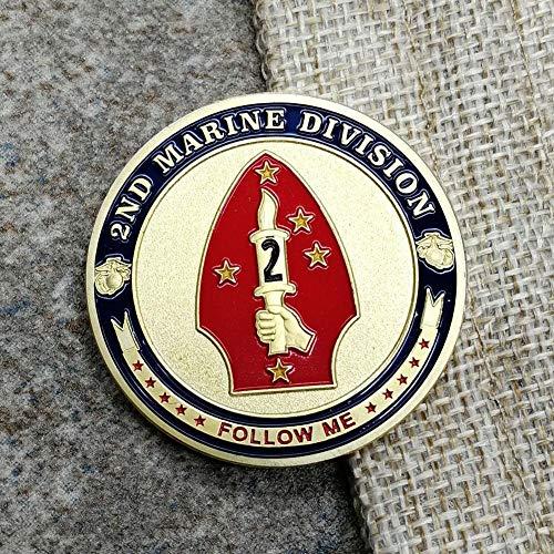 United States Marine Corps,Segunda División de Marina,Insignias Milit