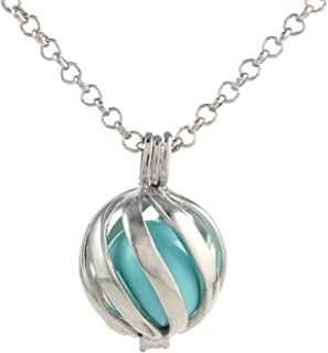 Bonnie Bola Harmony Ball Belly Music Chime Angel Caller Pregnancy Pendant Necklace
