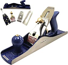 Homdum® Iron steel jack plane | everon premium heavy duty carpenter wood tool with sharp planer blade attachment (14 inch)