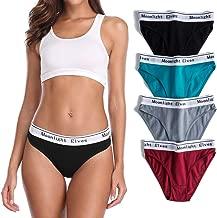 moonlight elves Womens Underwear Cotton Stretch Bikini Panties Hipster Briefs Comfort Panty Pack 4/6/8