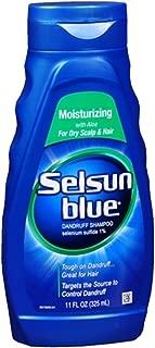 Selsun Blue Moisturizing Dandruff Shampoo 11 oz (Pack of 5)