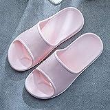 WTFYSYN Zapatillas de casa de Verano Sandalias,Zapatos Sandalias Suaves de EVA, Zapatillas de Interior Antideslizantes, Zapatillas de baño para baño-Pink_35-36,Playa para Hombre Zapatillas de Estar