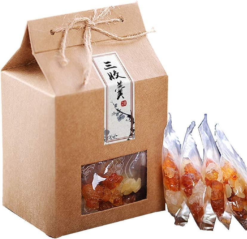 Yunnan Peach Gum Xueyan Gleditsia Combination Set 320g 20 Packs Can Be Used 40 Times