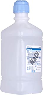 Baxter NaCl 0.9% Sodium Chloride (Saline) for Irrigation, One Litre (1000ml), Pack of 6 Bottles