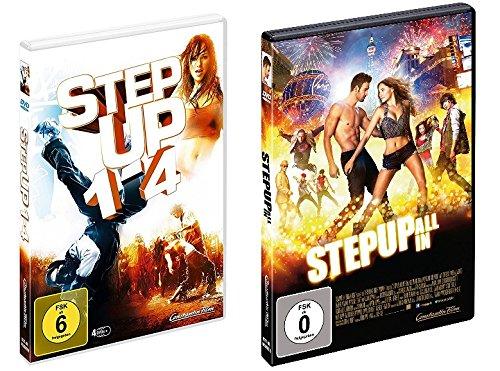 Step Up - alle 5 Filme (1-4 Box + 5) im Set - Deutsche Originalware [5 DVDs]