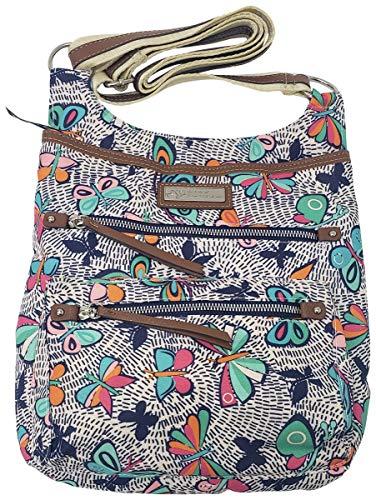 Lily Bloom Ivy Fashion Umhängetasche mit mehreren Taschen, (Nachtflug), Medium