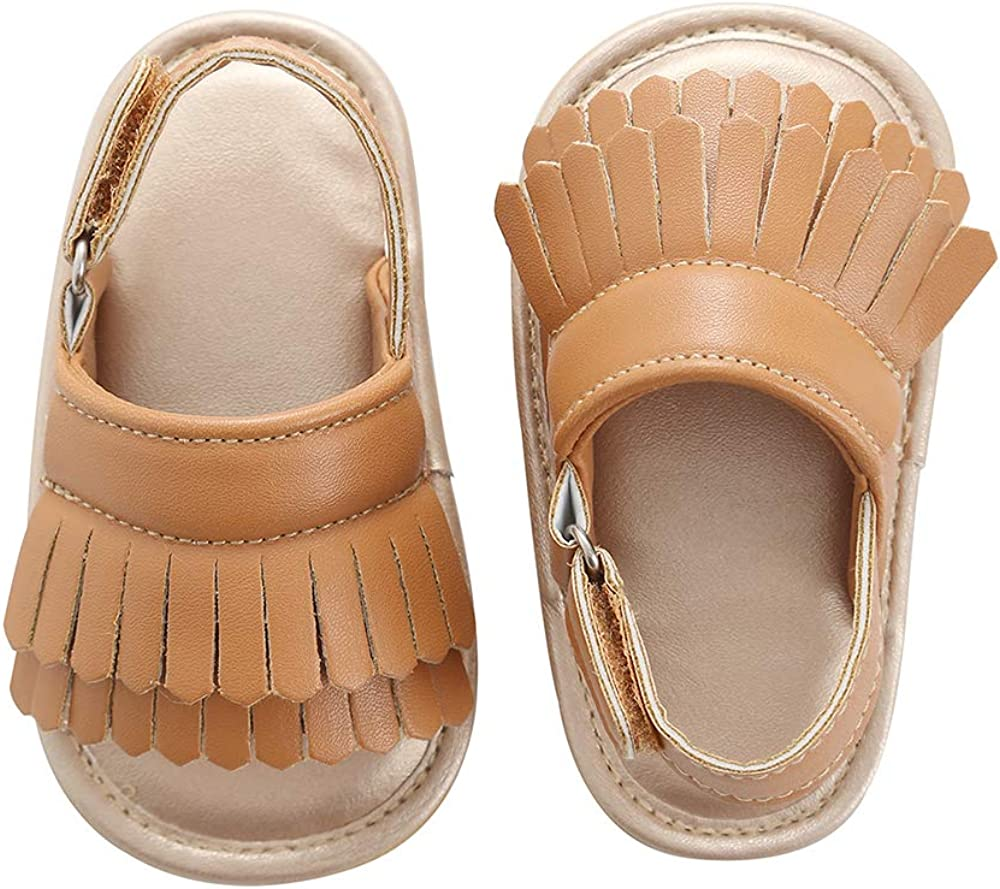 Baby Sandal Tassels Summer Quality inspection Toddler Slipper Months Shoes 0-18 Ranking TOP10