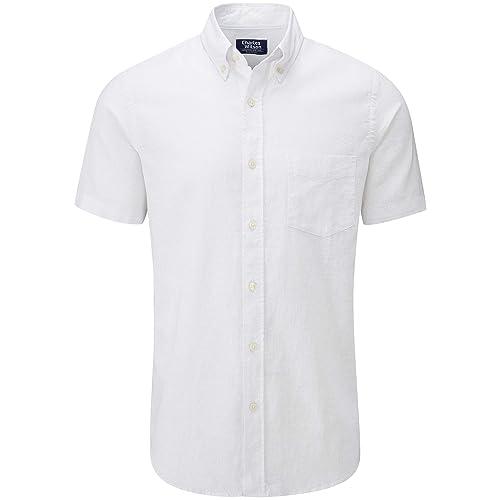 Mountain Warehouse Men Linen Short Sleeve Shirt