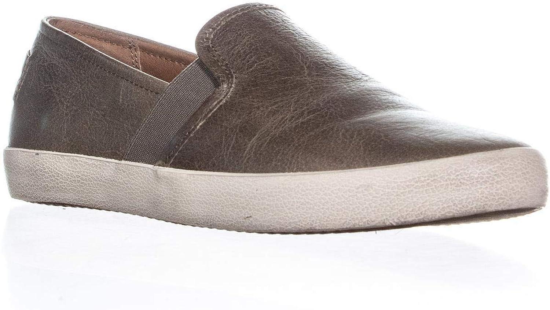 Frye Dylan Slip-On Vintage Fashion Sneakers, Ash