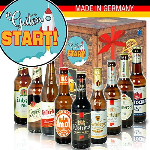 Guten Start - Ostdeutsche Biersorten - Guten Start in den neuen Job