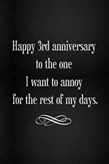 Lined Notebook - Wedding Anniversary Gifts, for Him, for Her, for Couple (Gag Gifts)