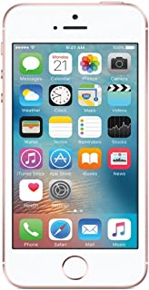 Apple iPhone SE, 1st Generation, 64GB, Rose Gold - For AT&T / T-Mobile (Renewed)