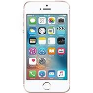 Apple iPhone SE, GSM Unlocked, 64GB - Rose Gold (Renewed)