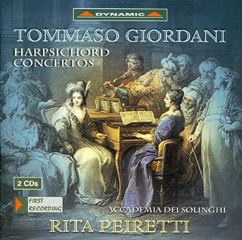 Giordani: Harpsichord Concertos
