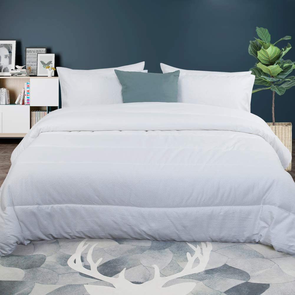 AVEYAL Bedding Down shipfree Alternative Comforter Soft Light Quilted We Brand new